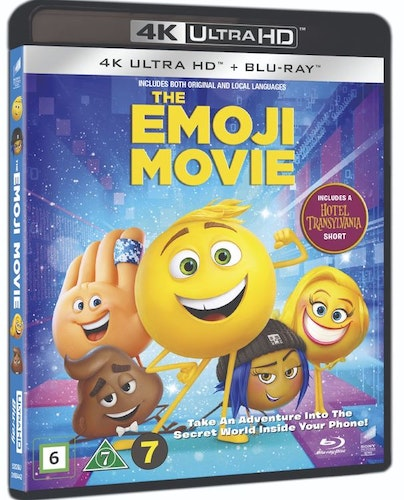 The Emoji Movie 4K Ultra HD bluray