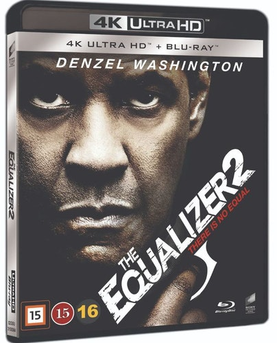 The Equalizer 2 4K UHD bluray