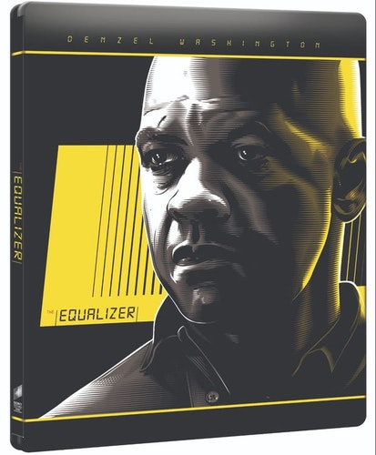 The Equalizer steelbook 4K UHD bluray
