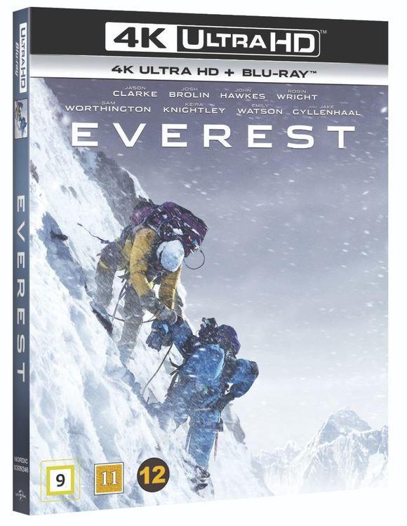 Everest 4K Ultra HD bluray