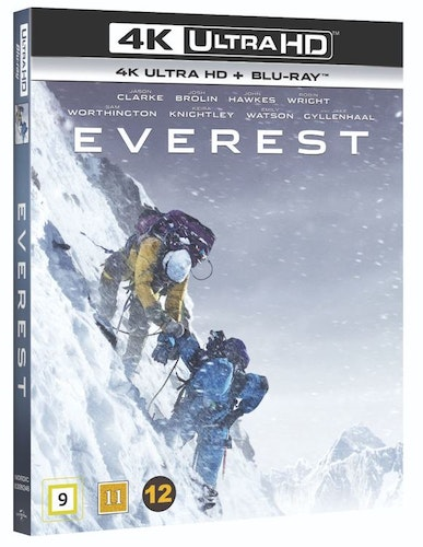 Everest 4K Ultra HD bluray