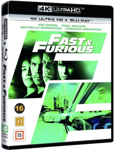 Fast & Furious 4 4K UHD bluray