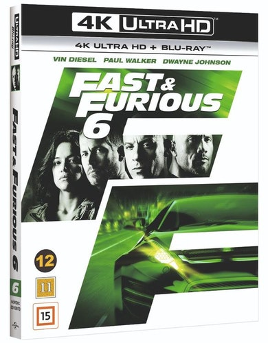 Fast & Furious 6 4K UHD bluray