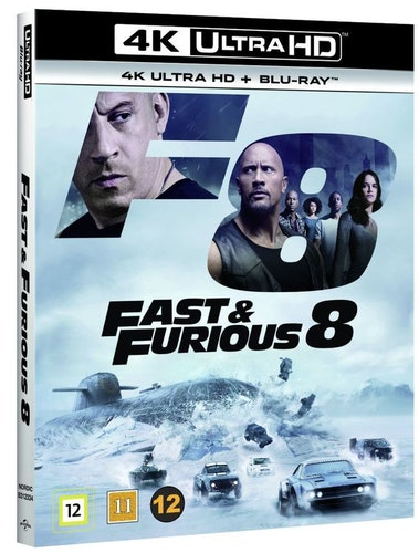 Fast & Furious 8 4K UHD bluray