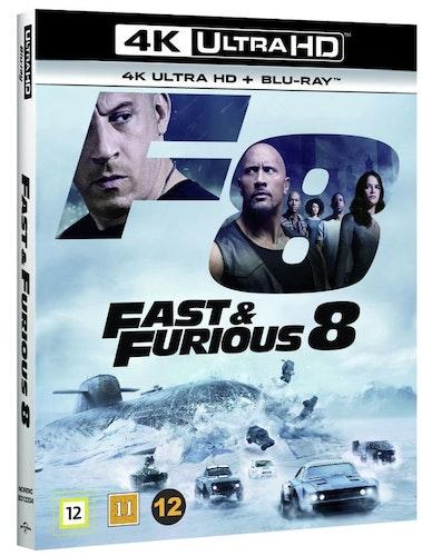 FAST & FURIOUS 8 4K UHD bluray