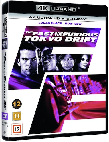 The Fast and the Furious: Tokyo Drift 4K UHD bluray