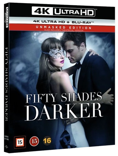 FIFTY SHADES DARKER 4K UHD bluray