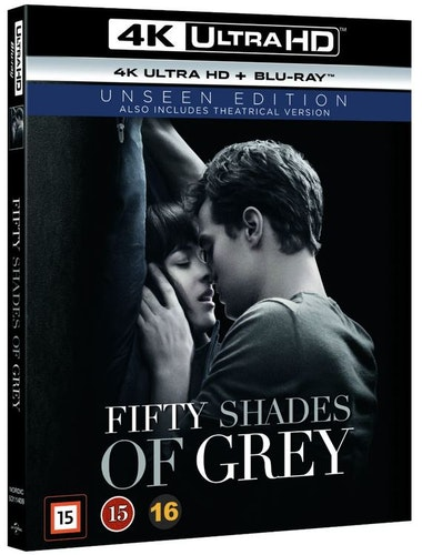 FIFTY SHADES OF GREY 4K UHD bluray