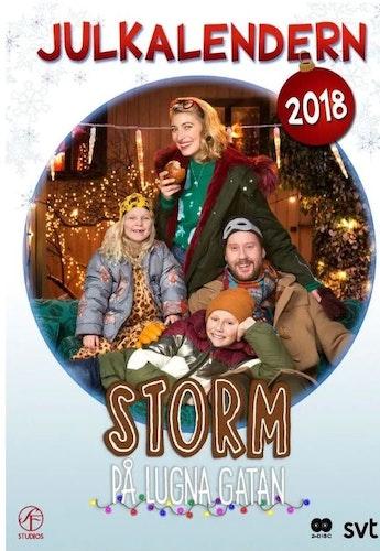 Julkalender Storm på Lugna gatan 2019 DVD
