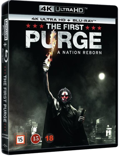 The First Purge 4K UHD bluray