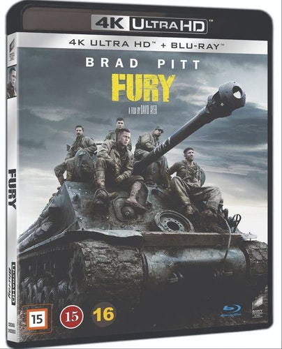 Fury 4K UHD bluray