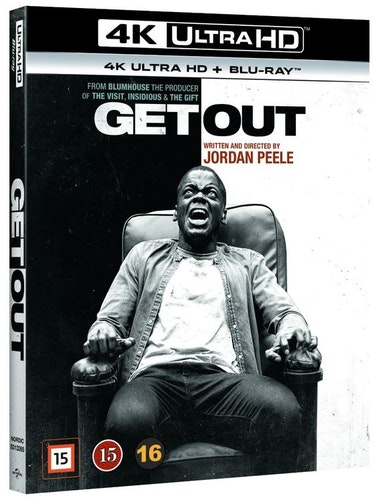 Get out 4K UHD bluray