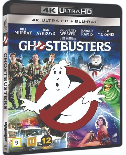 Ghostbusters 4K UHD bluray
