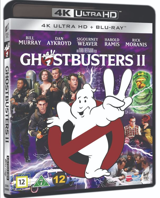 Ghostbusters 2 4K UHD bluray