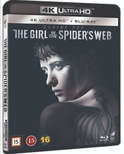 THE GIRL IN THE SPIDER'S WEB 4K UHD bluray