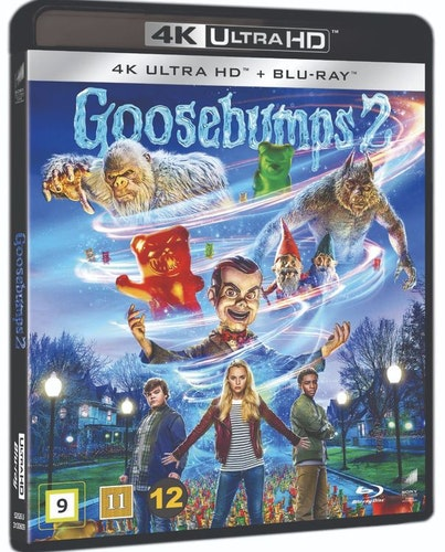 Goosebumps 2 4K UHD bluray