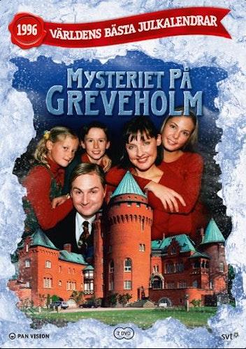 Julkalender Mysteriet på Greveholm 1996 DVD