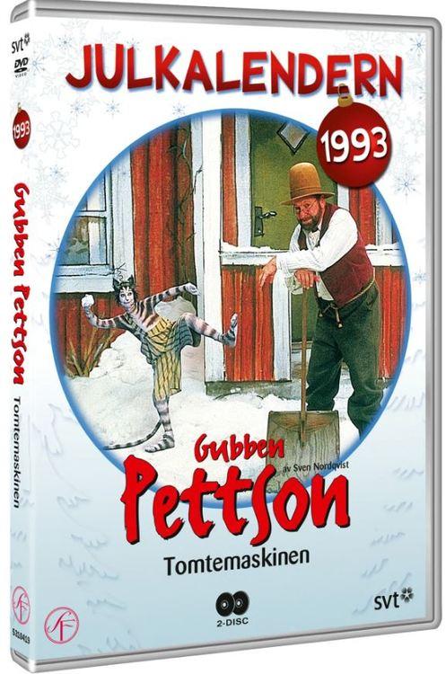Julkalender Gubben Pettson Tomtemaskinen 1993 DVD