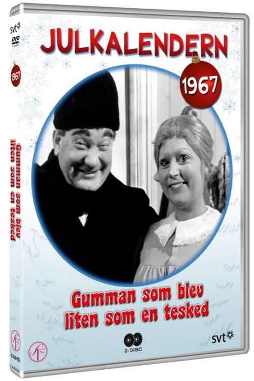 Julkalender Gumman som blev liten som en tesked 1967 DVD