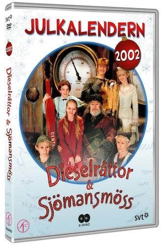 Julkalender Dieselråttor och Sjömansmöss 2002 DVD
