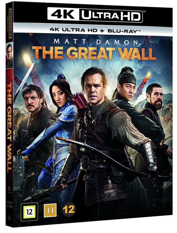 The Great Wall 4K UHD bluray