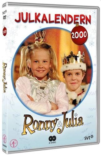 Julkalender Ronny och Julia 2000 DVD