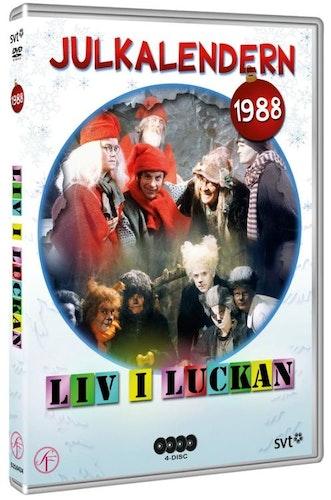 Julkalender Liv i luckan 1988 DVD