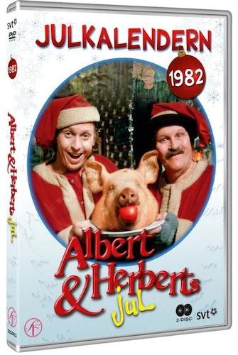 Julkalender Albert och Herberts jul 1982 DVD