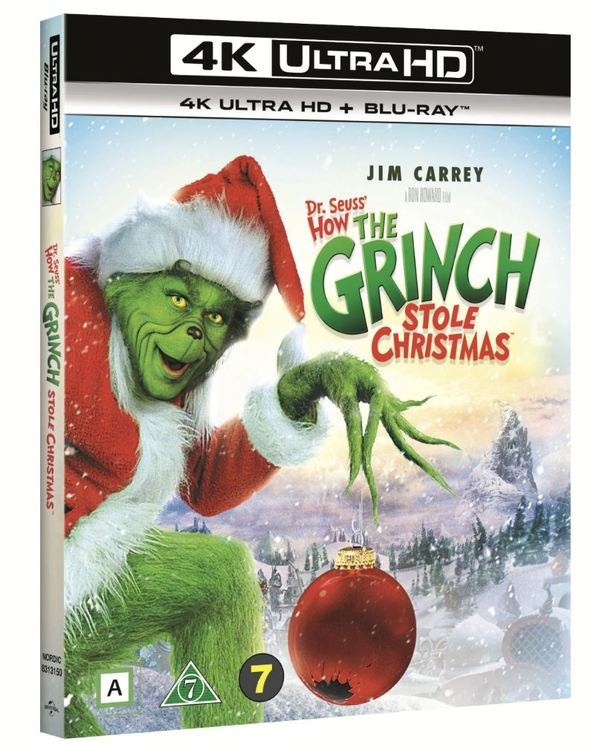 The Grinch/Grinchen 4K Ultra HD bluray