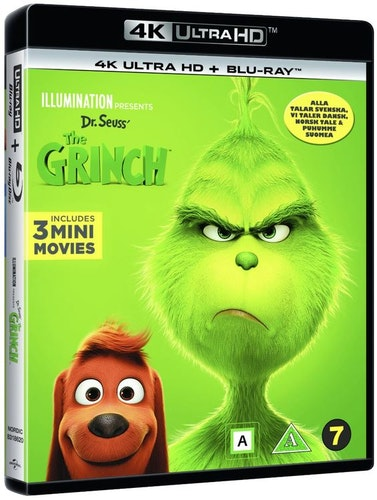 The Grinch/Grinchen 2018 4k UHD bluray
