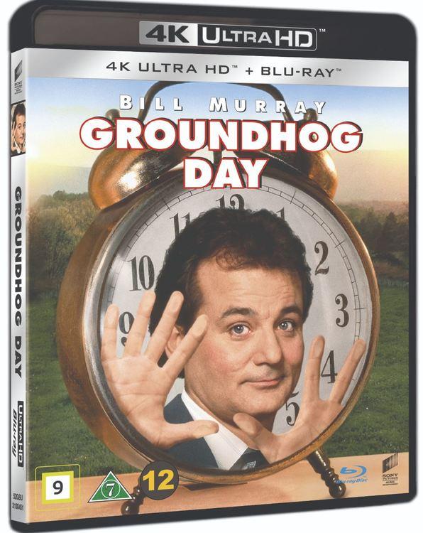 Groundhog day/Måndag hela veckan 4K UHD bluray