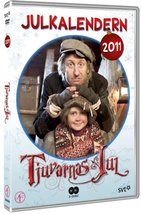 Julkalender Tjuvarnas jul 2011 DVD
