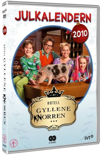 Julkalender Hotell Gyllene Knorren 2010 DVD