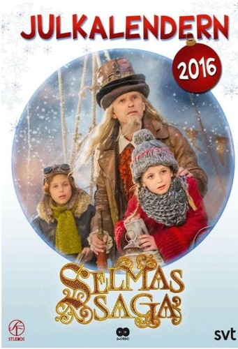 Julkalender Selmas saga 2016 DVD