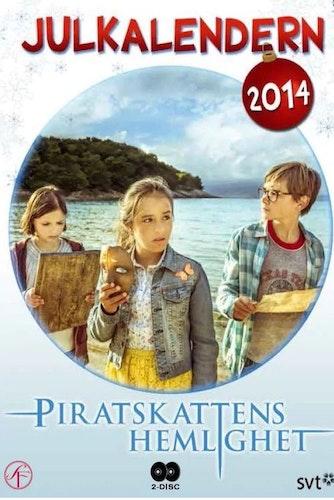 Julkalender Piratskattens hemlighet 2014 DVD