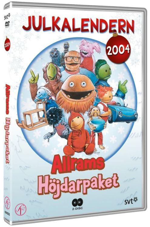Julkalender Allrams höjdarpaket 2004 DVD