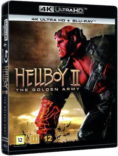 Hellboy 2: The Golden Army 4K UHD bluray