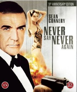 007 James Bond - Never say never again bluray