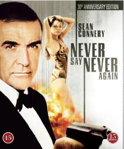 Never say never again bluray