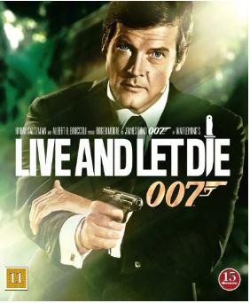 007 James Bond - Live and let die/Leva och låta dö bluray
