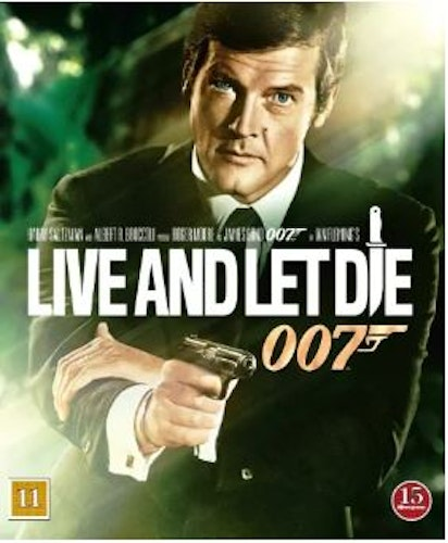 007 James Bond - Live and let die bluray