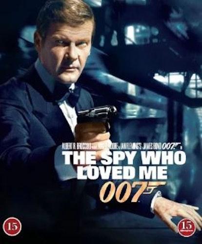007 James Bond - The spy who loved me/Älskade spion bluray