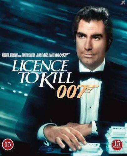 007 James Bond - Licence to kill bluray
