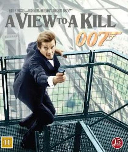 007 James Bond - A view to a kill/Levande måltavla bluray