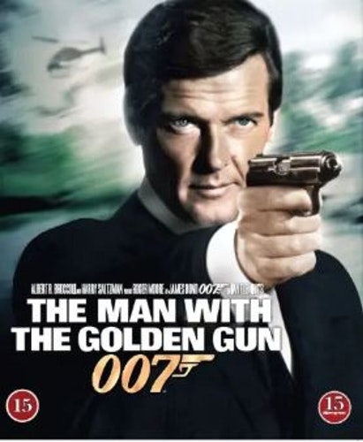 007 James Bond - The man with the golden gun/Mannen med den gyllene pistolen bluray
