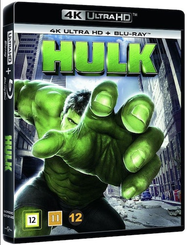 Hulken 4K UHD bluray 2003