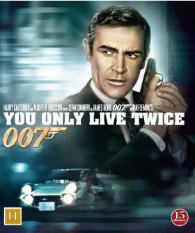 007 James Bond - You only live twice/Man lever bara två gånger bluray