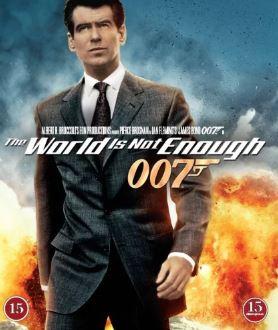 007 James Bond - The world is not enough/Världen räcker inte till bluray