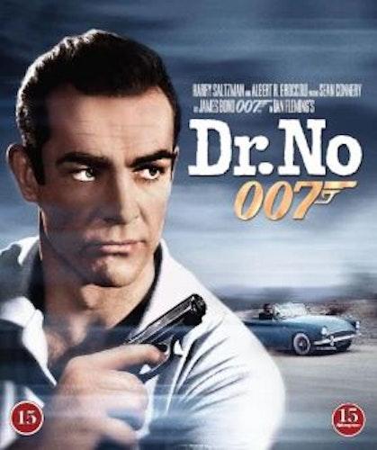 007 James Bond - Dr No/Agent 007 med rätt att döda bluray