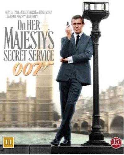 007 James Bond - On her Majesty's secret service/I hennes majestäts hemliga tjänst bluray
